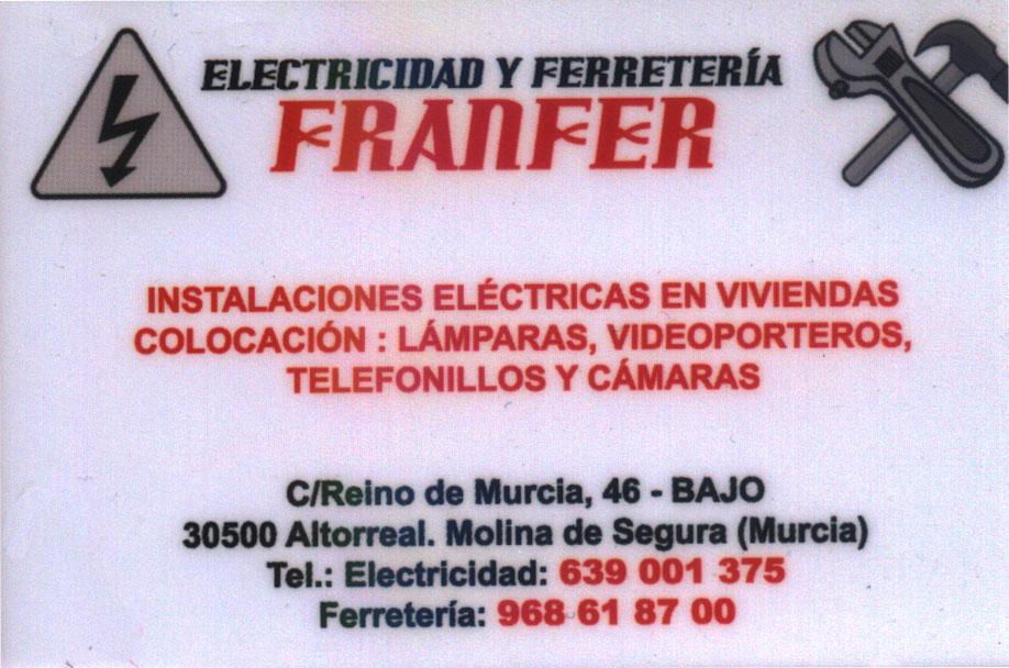 Electricidad y Ferretería Franfer