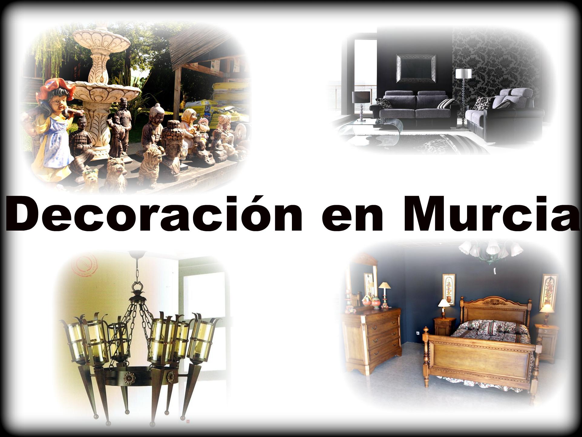 Tiendas de Decoración en La Región Murcia