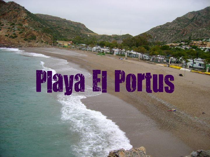 Ruta Playa del Portus - Campillo de Adentro - La Azohía
