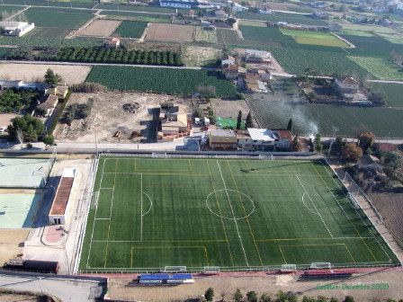 Campo de Fútbol Casillas Monteagudo de Murcia