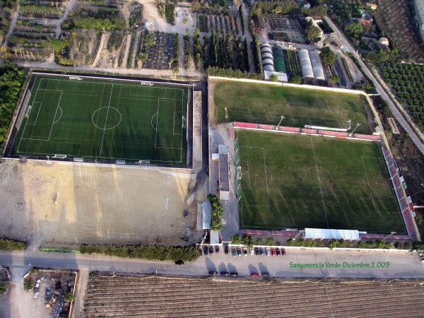 Campo de Fútbol Sangonera la Verde de Murcia