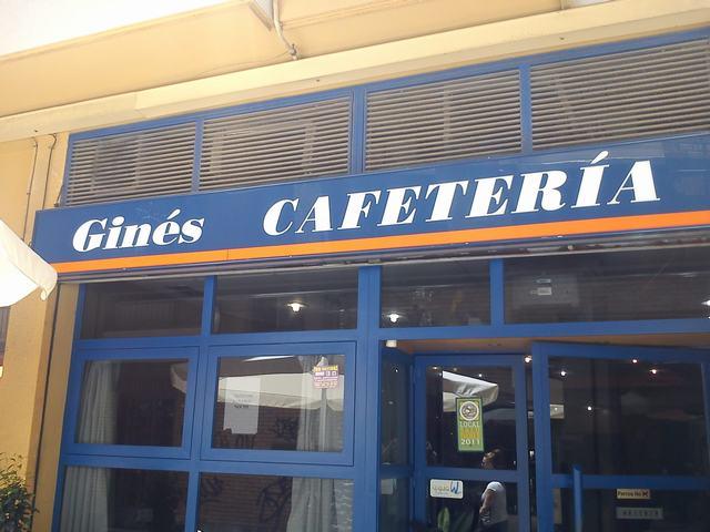 Ginés Cafetería