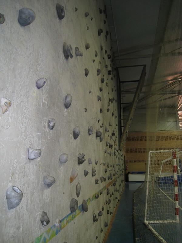 Pabellón rocódromo de Santo Ángel de Murcia