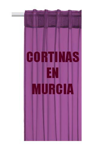 Cortinas en La Región de Murcia