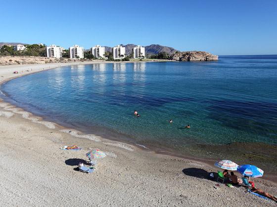Playa del Mojón de Mazarrón