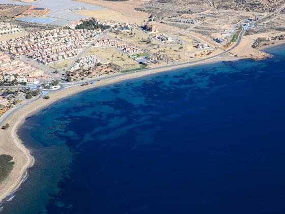Playa del Alamillo de Mazarrón