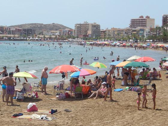 Playa del Rihuete de Mazarrón