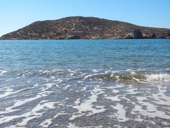 Playa de la Isla de Mazarrón