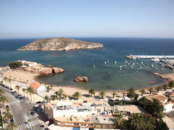 Playa de la Ermita de Mazarrón