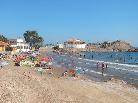 Playa de la Reya de Mazarrón