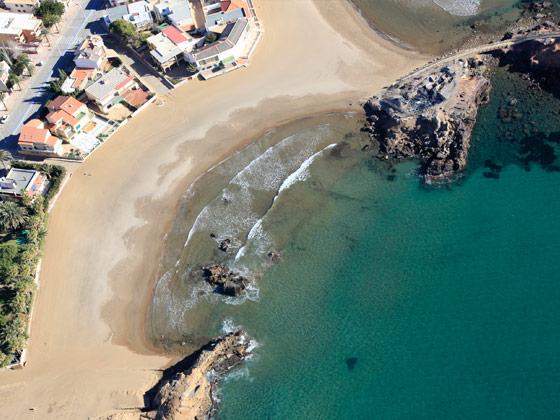 Playa de la Pava de Mazarrón