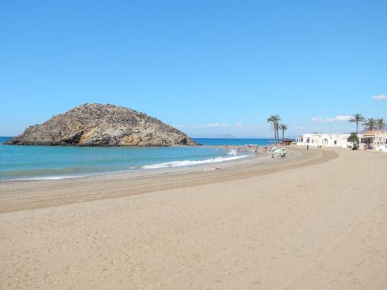 Playa de Nares de Mazarrón