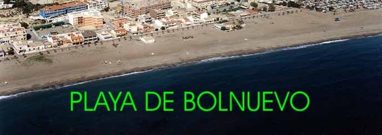 Playa de Bolnuevo de Mazarrón