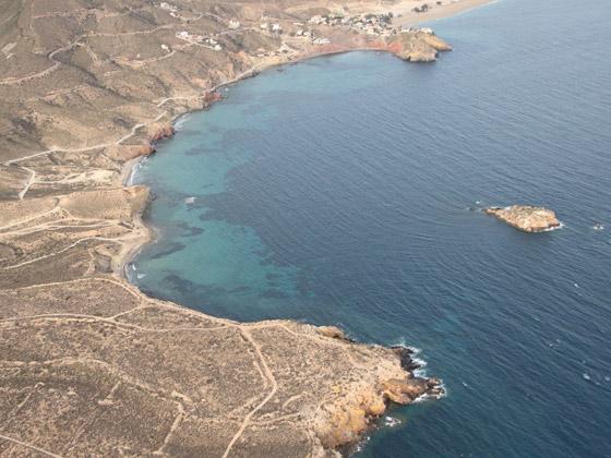 Playa de Cueva Lobos de Mazarrón