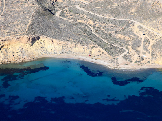 Playa Amarilla de Mazarrón