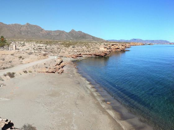 Playa del Hondón del Fondón de Mazarrón