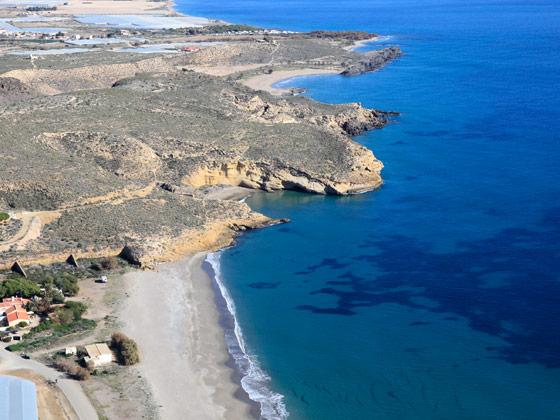 Playa del Ballenato de Mazarrón