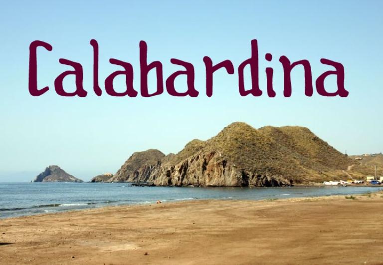 Playa La Calabardina en Águilas
