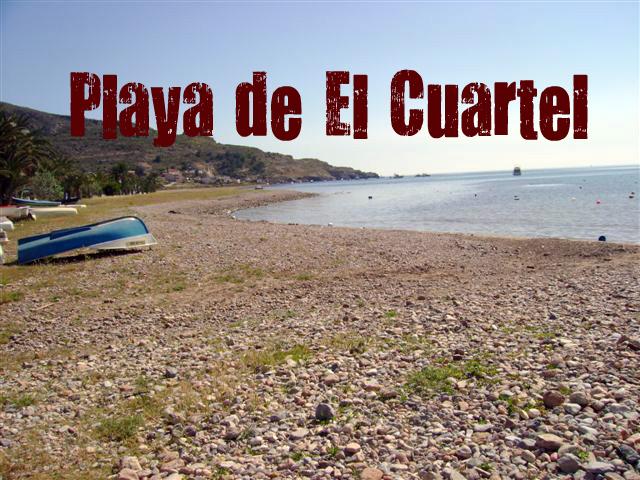 Playa Cuartel del Ciscar en Lorca
