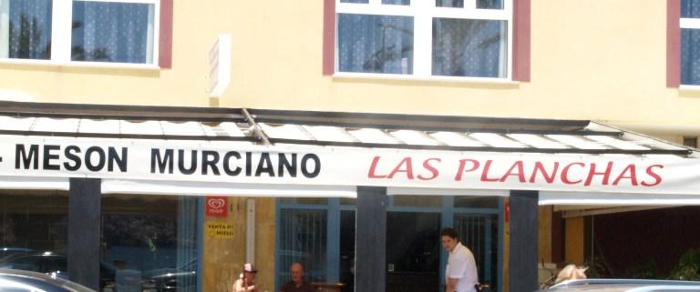 Restaurante Mesón Murciano Las Planchas