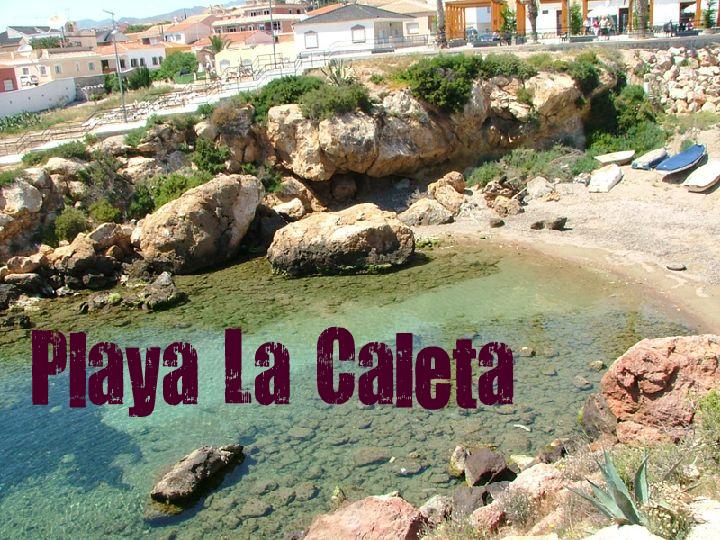 Playa La Caleta en Cartagena