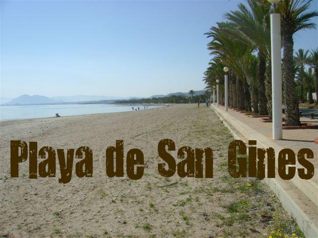 Playa San Ginés en Cartagena