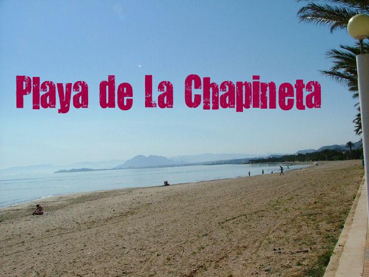 Playa de La Chapineta en Cartagena