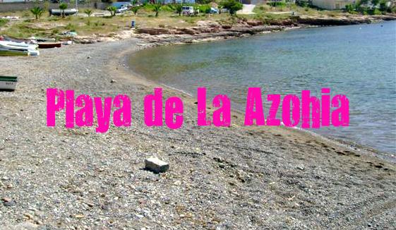 Playa de la Azohía en Cartagena