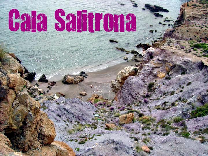 Cala Salitrona en Cartagena