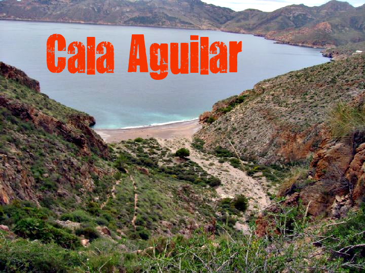 Cala Aguilar en Cartagena