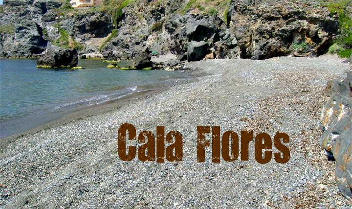 Playa Cala Flores en Cartagena