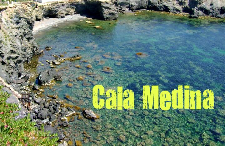 Cala Medina en Cartagena
