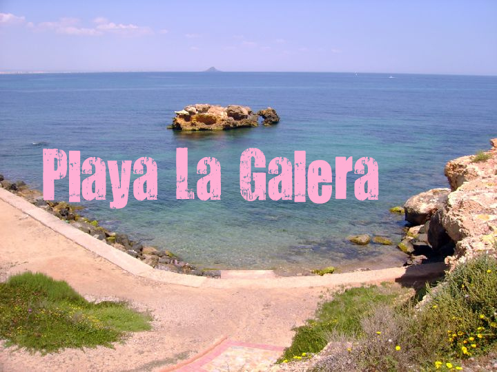 Playa La Galera en Cartagena