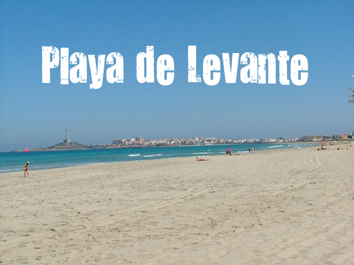 Playa de Levante de Mar Menor