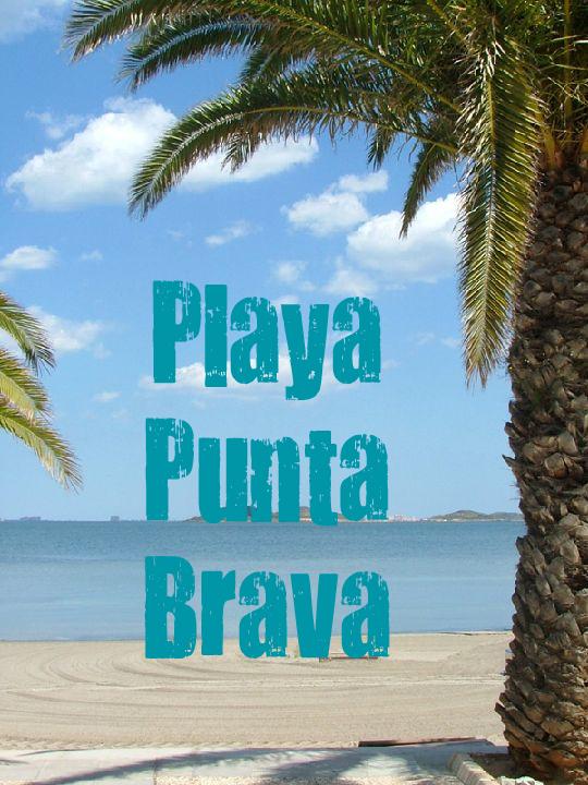 Playa Punta Brava en Cartagena