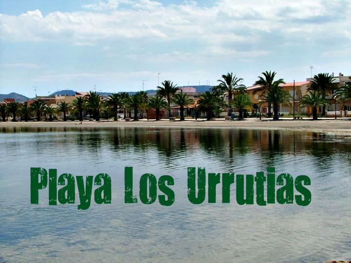 Playa de Los Urrutias en Cartagena