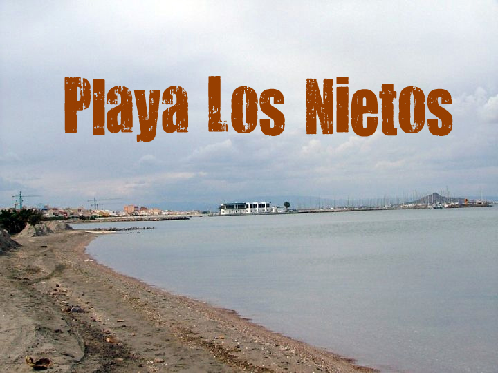 Playa Los Nietos en Cartagena