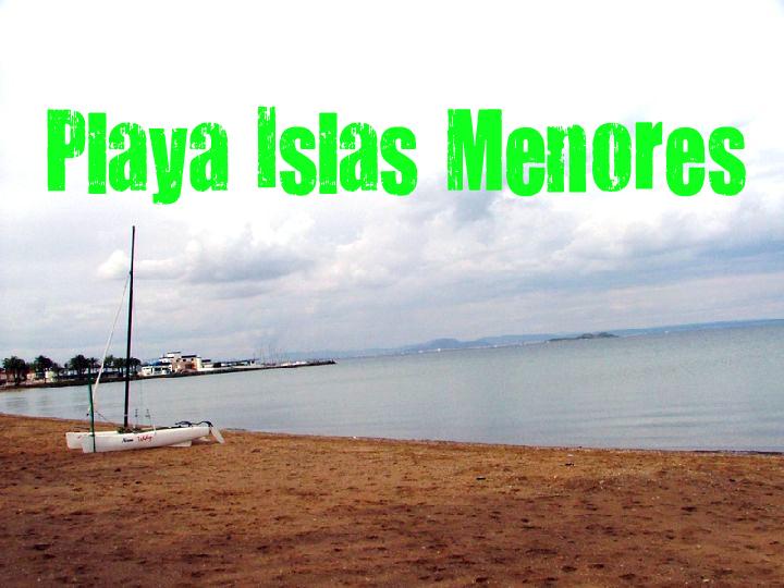 Playa de Islas Menores del mar menor
