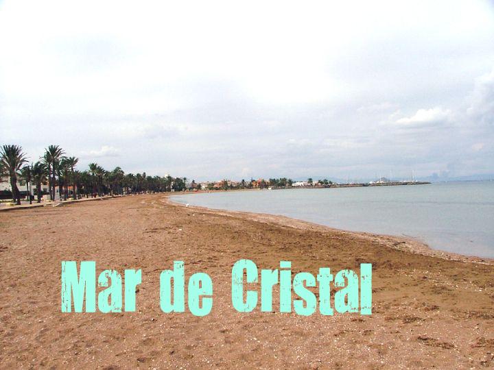 Playa de Mar de Cristal en mar menor