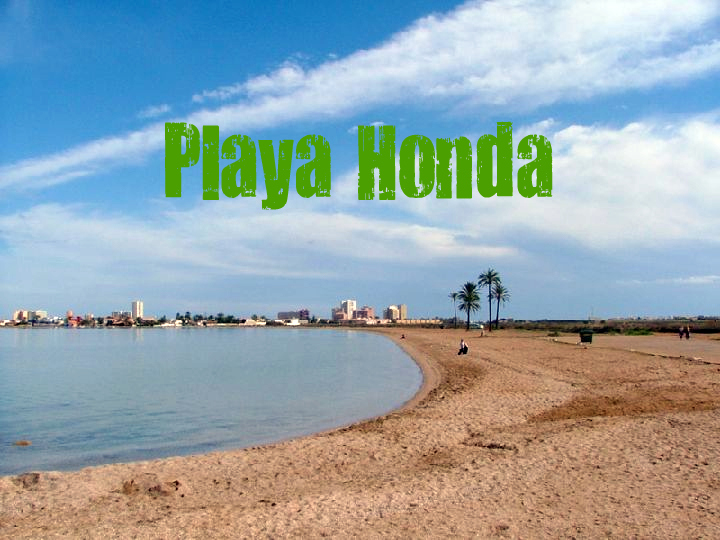 Playa Honda en Cartagena