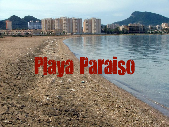 Playa Paraiso en Cartagena