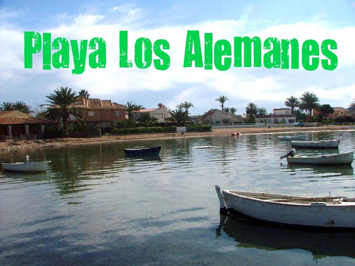 Playa de Los Alemanes en Cartagena