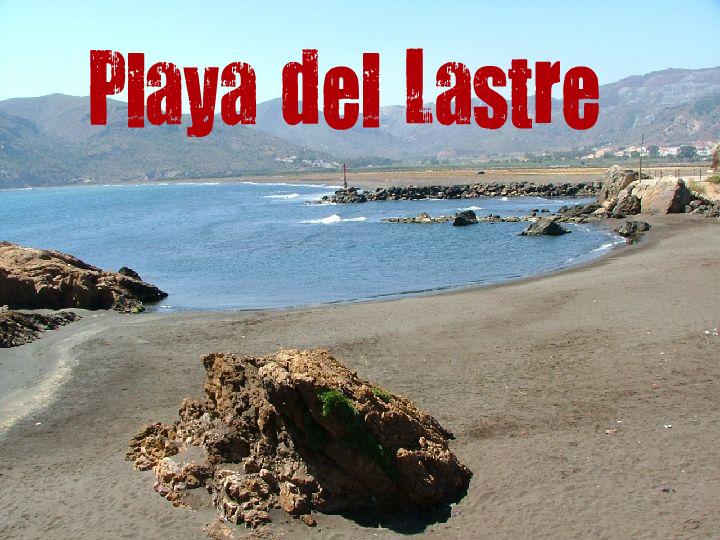Playa del Lastre en La Unión