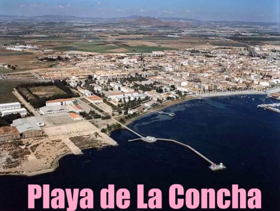 Playa de La Concha en Los Alcázares