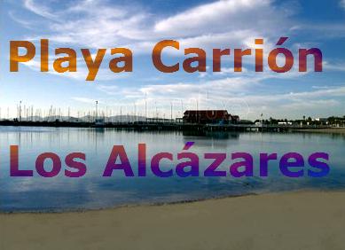 Playa Carrión en Los Alcázares