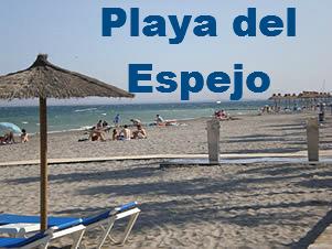 Playa del Espejo en Los Alcázares