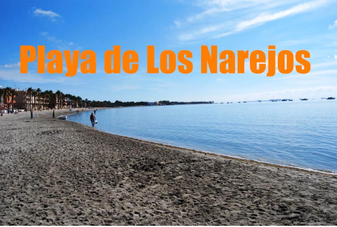Playa de Los Narejos en Los Alcázares