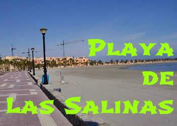 Playa de Las Salinas en Los Alcázares