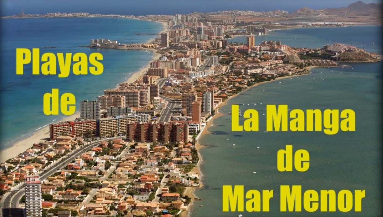 Playas en La Manga del Mar Menor