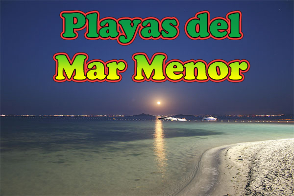 Playas en el Mar Menor